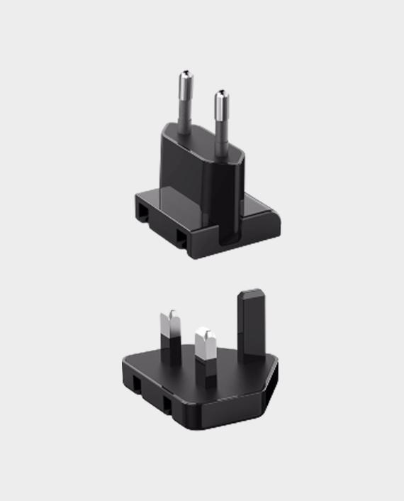 Anker PowerPort 4 Lite Interchangeable EU and UK Plugs