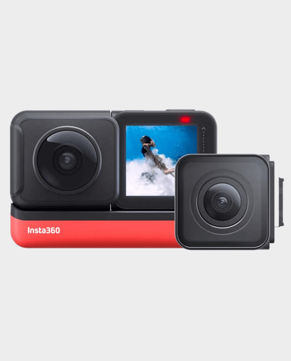 Insta360 ONE R 360 Edition Interchangeable Lens Action Camera in Qatar