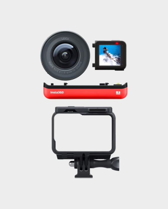 Insta360 ONE R Interchangeable Lens Action Cam 1-inch Edition