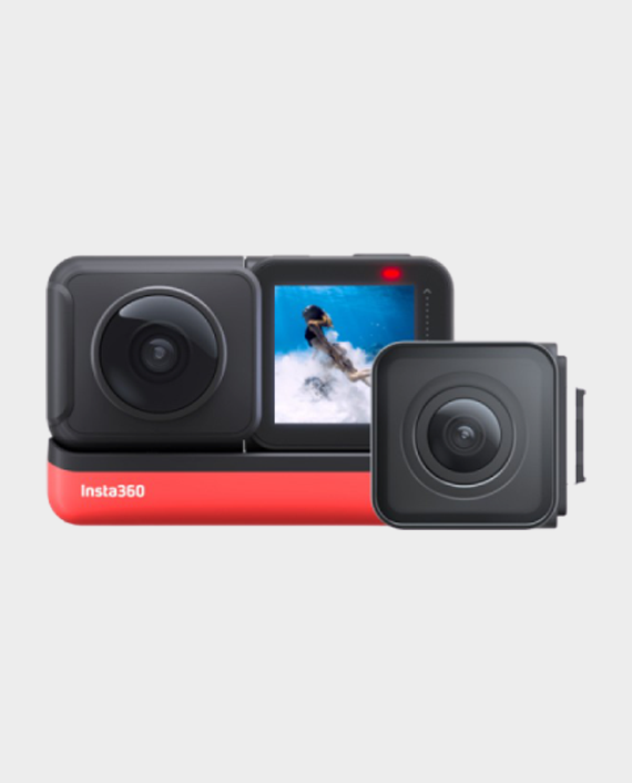 Insta360 ONE R Twin Edition Interchangeable Lens Action Camera in Qatar