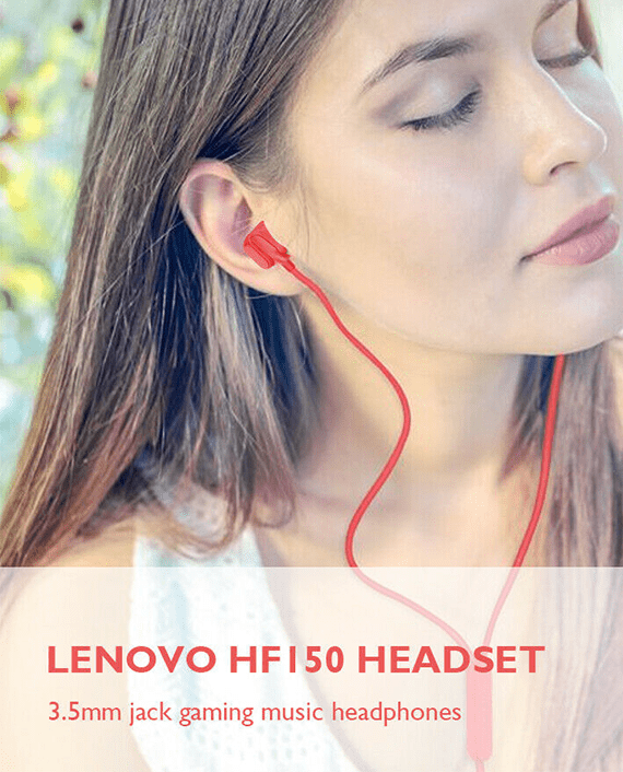 Lenovo HF150 Headphones with Mic