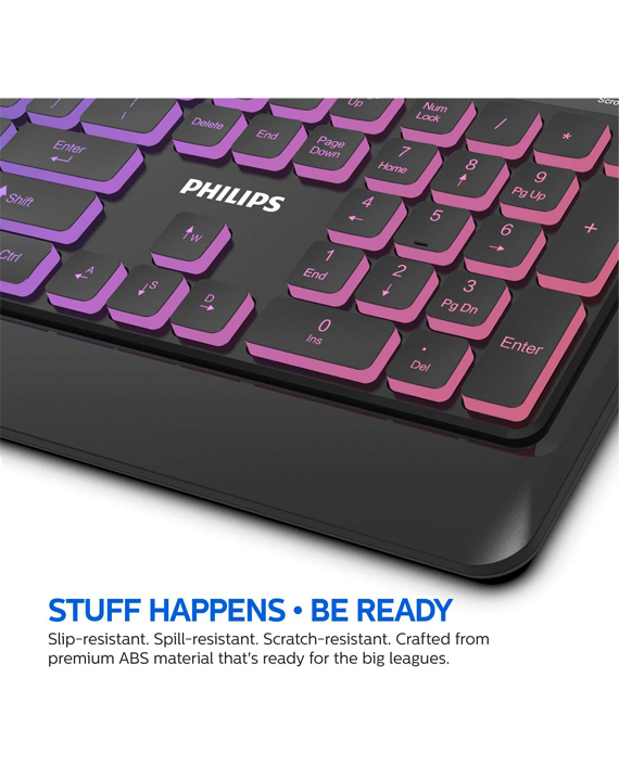 Philips SPK8294 Wired Mechanical Gaming Keyboard