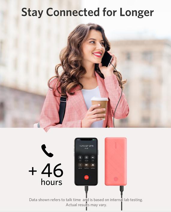 Anker PowerCore Slim 10000 PD Pink
