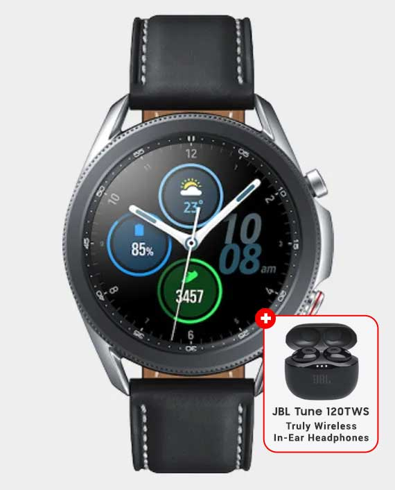 Samsung Galaxy Watch 3 45mm – Mystic Silver in Qatar