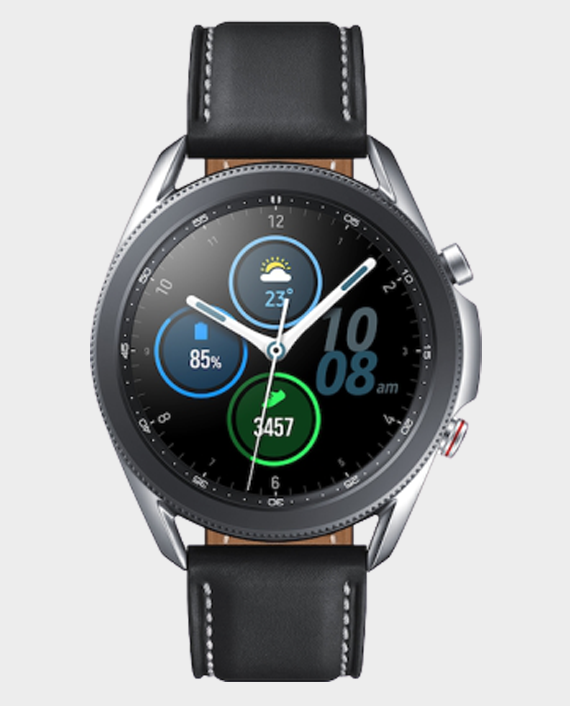 Samsung Galaxy Watch 3 45mm Mystic Silver in Qatar