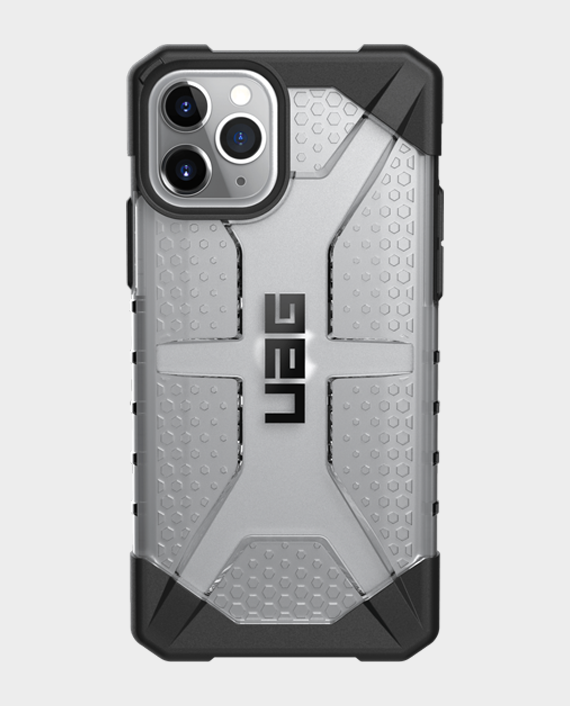 iPhone 11 Pro UAG Rugged Protection Plasma Series Case Ice in Qatar