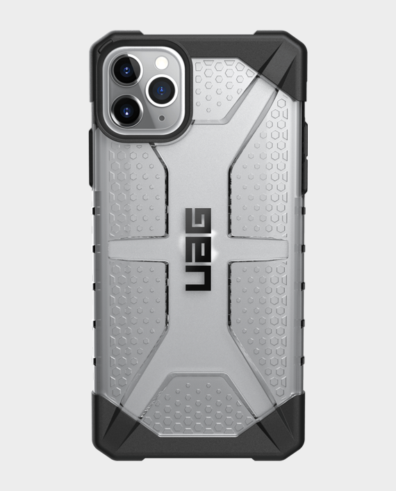iPhone 11 Pro Max UAG Rugged Protection Plasma Series Case Ice in Qatar