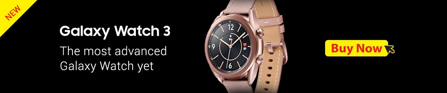 Galaxy Watch 3 Banner