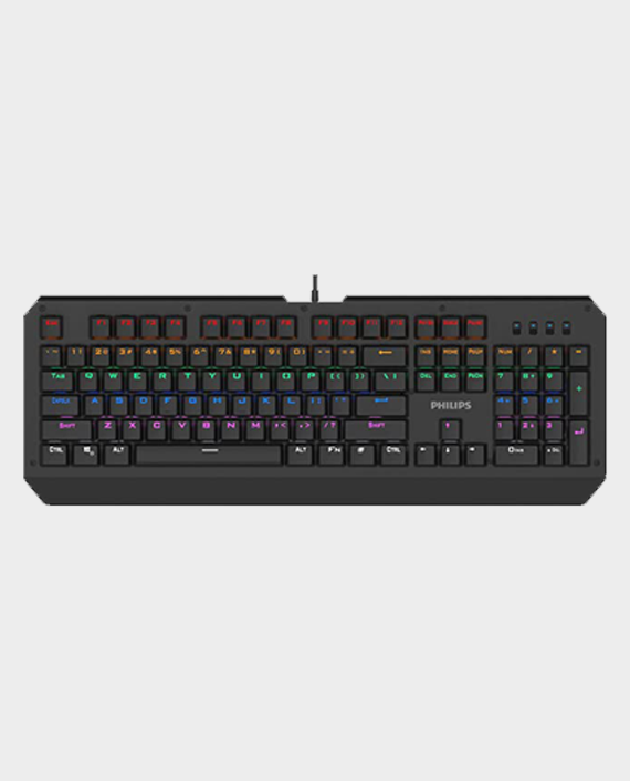 Philips SPK8413 Wired Mechanical Gaming Keyboard in Qatar