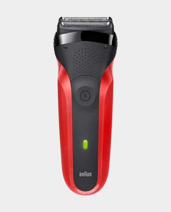 Braun Shaver 300TS Red