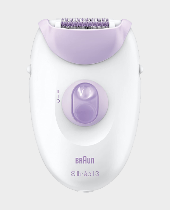 Braun Series 3-3170 Silk Epil Epilator Purple in Qatar