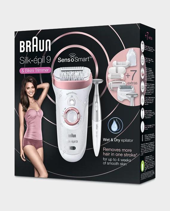 Braun Silk-epil 9 SensoSmart 9/890 Wet & Dry Epilator