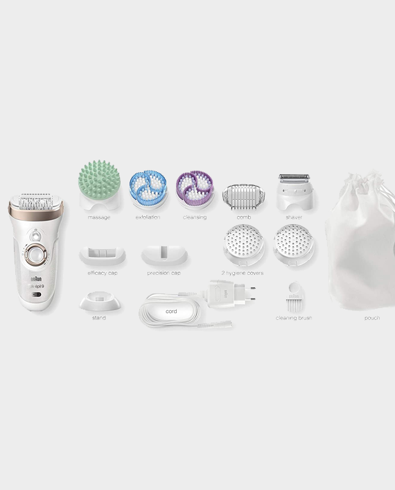 Braun 9-961 Epilator Exfoliation & Skin Care System