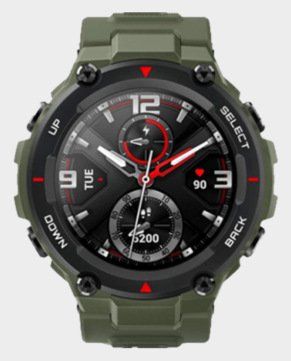 Amazfit T-Rex Smartwatch Army Green Qatar Price