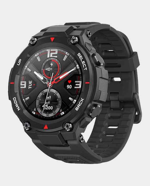 Amazfit T-Rex Smartwatch - Rock Black in Qatar