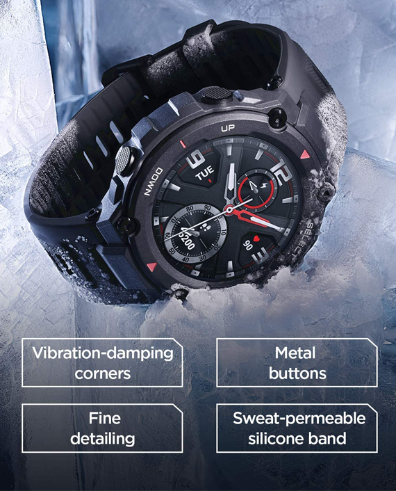 Amazfit T-Rex Smartwatch Rock Black
