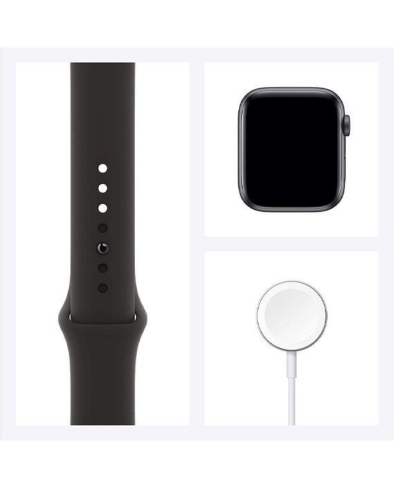Apple Watch Series 6 M00H3AE/A 44mm GPS - Space Gray Aluminium Case with Black Sport Band