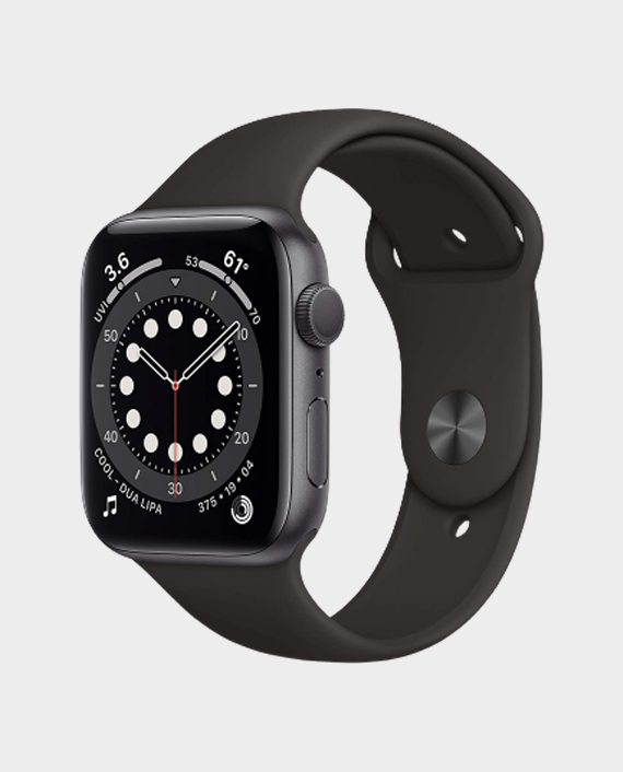 Apple Watch Series 6 MG2E3AE/A 44mm GPS + Cellular Space Gray Aluminium Case with Black Sport Band
