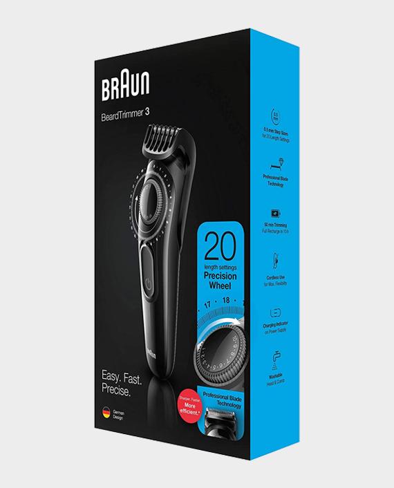 Braun BT3222 Beard & Hair Trimmer for Men