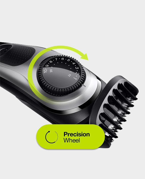 Braun Beard Trimmer BT5260 with Precision Dial
