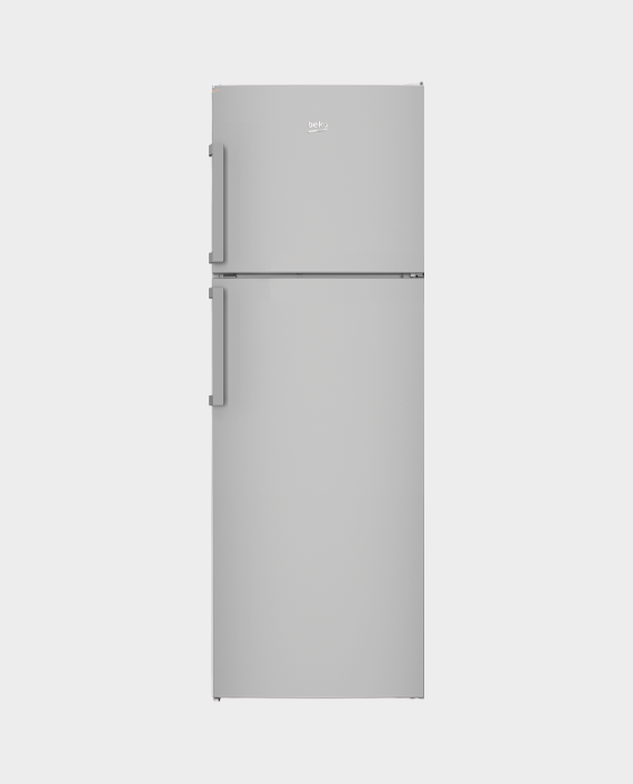 Beko RDNE350K21S Top Mount Refrigerator 390L Silver in Qatar
