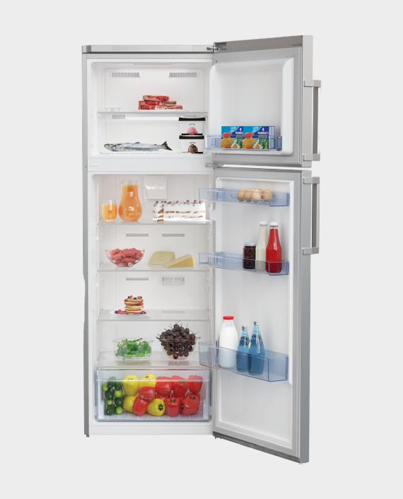 Beko RDNE390K21W Freezer Top Refrigerator 390L White