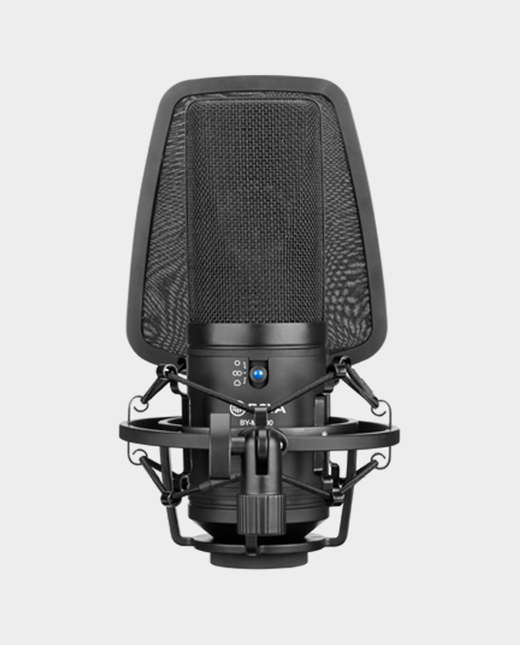 Boya BY-M1000 Large Diaphragm Condenser Microphone in Qatar