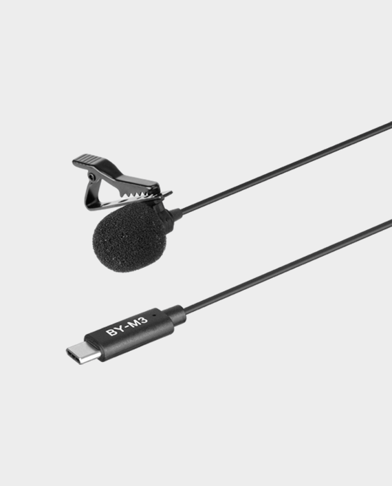 Boya BY-M3 for Android Digital Lavalier Microphone