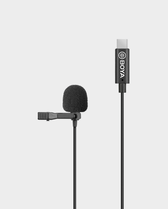 Boya BY-M3 for Android Digital Lavalier Microphone Black in Qatar