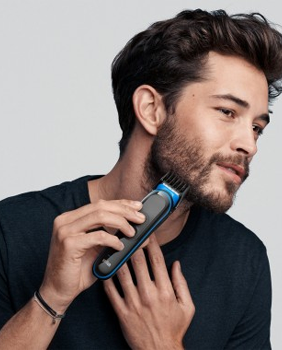 Braun MGK3242 7 in 1 Hair and Beard Trimming Grooming Kit