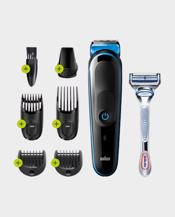 Braun MGK3242 7 in 1 Hair and Beard Trimming Grooming Kit in Qatar