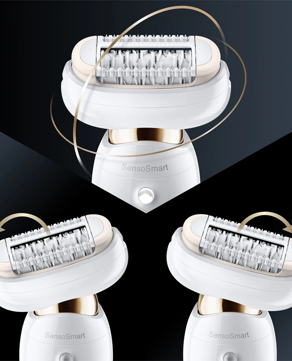 Braun SES9010 Epilator White/Gold