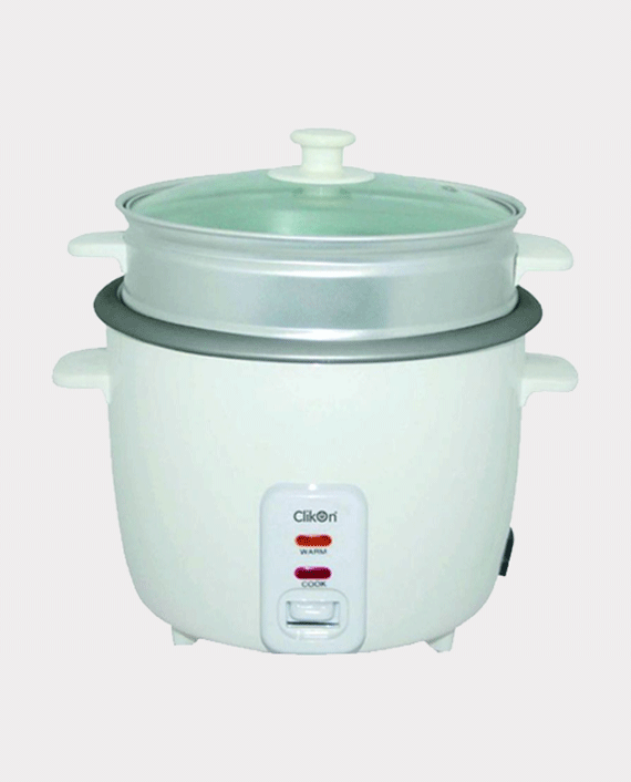 Clikon CK2125-N 1 Litre Rice Cooker with Streamer 400W in Qatar