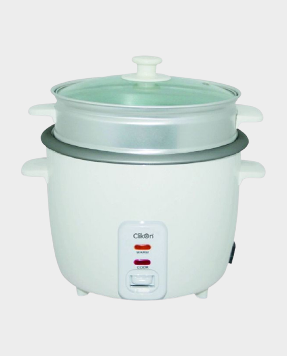 Clikon CK2127-N 1.8 Litre Rice Cooker with Steamer 700W in Qatar
