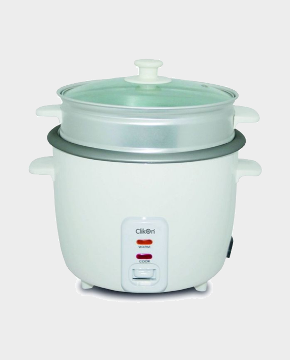 Clikon CK2128-N 2.8 Litre Rice Cooker with Streamer 1000W in Qatar