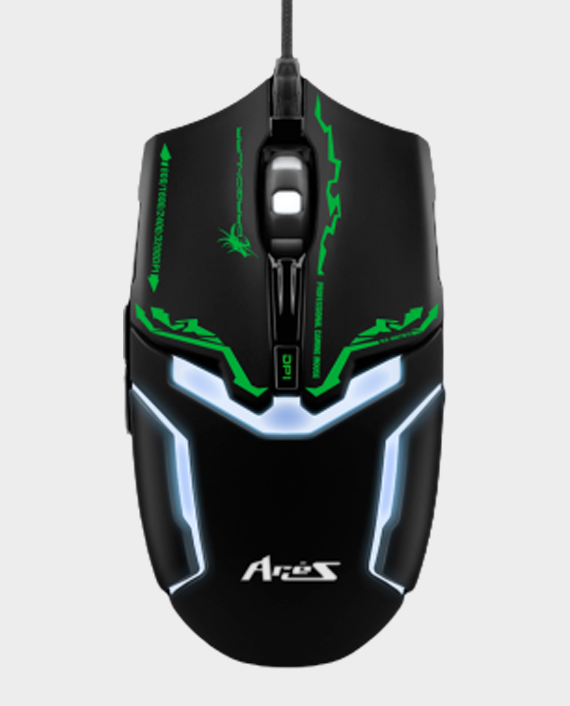Dragon War Ares G10BK Gaming Mouse 3200 DPI