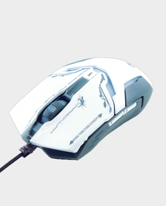 Dragon War Ares G10WH Gaming Mouse 3200 DPI White in Qatar