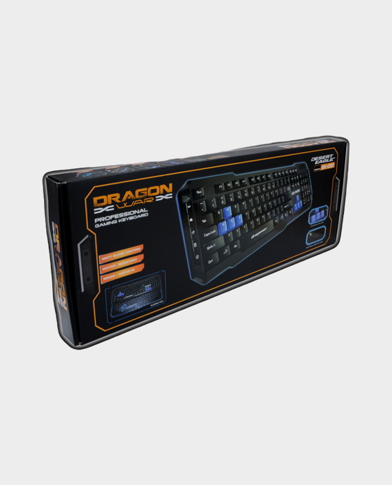 Dragon War Desert Eagle GK-001 Gaming Keyboard Water Resistant