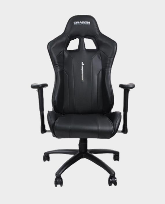 Dragon War GC-007 Gaming Chair with Massage Cushion - Black in Qatar
