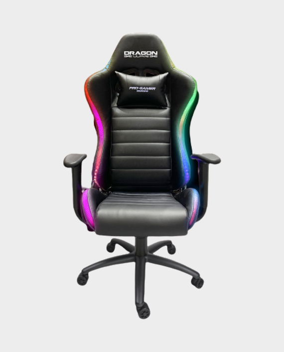 Dragon War GC-015 RGB Lighting effect Gaming Chair Black in Qatar