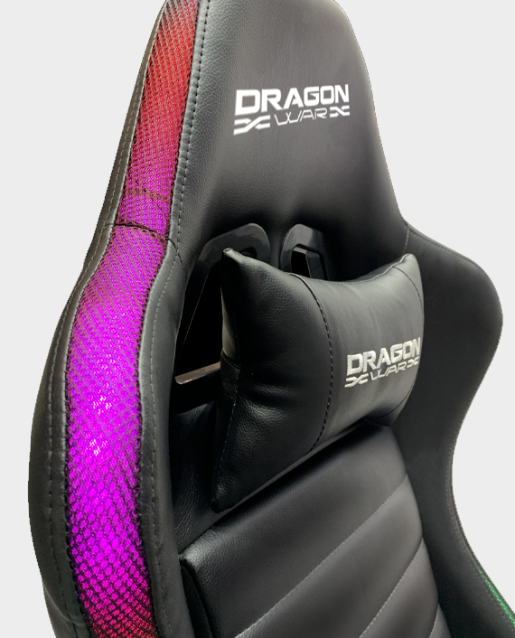 Dragon War GC-015 RGB Lighting effect Gaming Chair Black