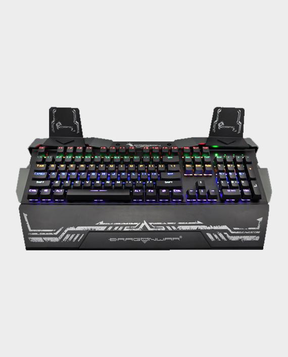 Dragon War GK-010 Steel Wings Optical Switch Gaming Keyboard with RGB in Qatar