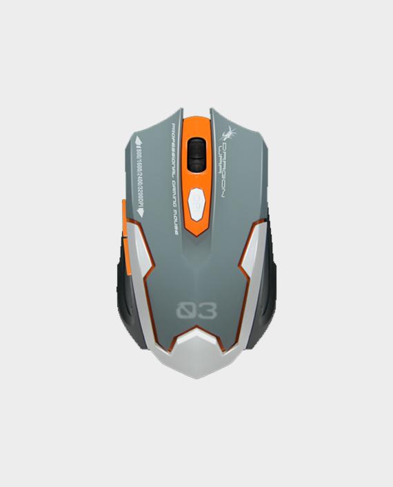 Dragon War GKM-001 Sencaic Gaming Keyboard Mouse Combo Set White