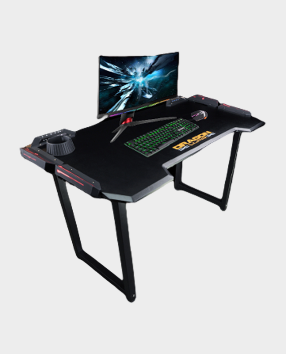 Dragon War GT-005 RGB Light effect Pro-Gaming Desk in Qatar