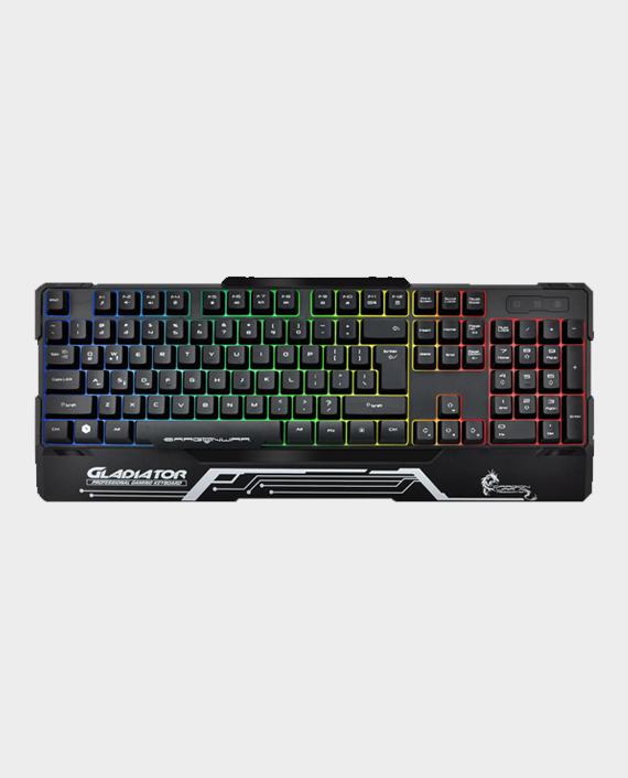 Dragon War Gladiator GK-008 Semi Mechanical Wired Gaming Keyboard with RGB in Qatar