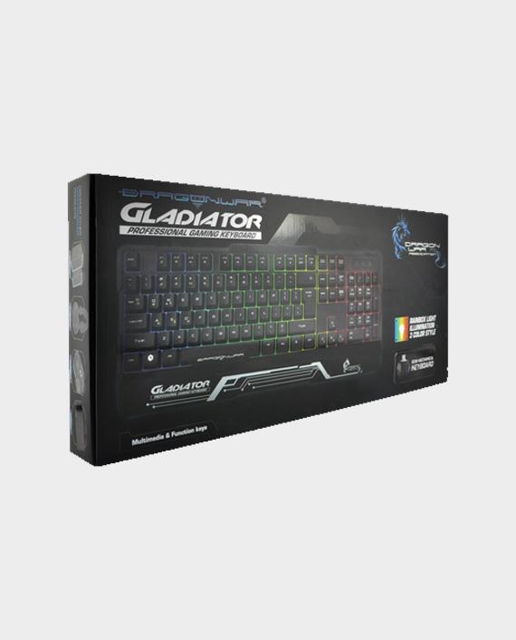 Dragon War Gladiator GK-008 Semi Mechanical Wired Gaming Keyboard with RGB