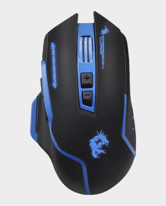 Dragon War Silent G17BL Gaming Mouse 3200 DPI Blue in Qatar
