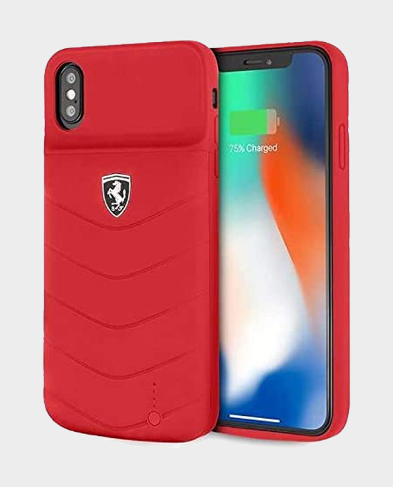 Ferrari Power Case 4000mAh for XS Max Red in Qatar