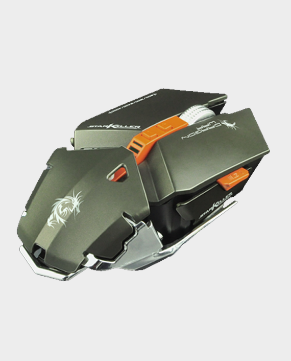 Dragon War Star Killer G16GY Gaming Mouse 4000 DPI Grey