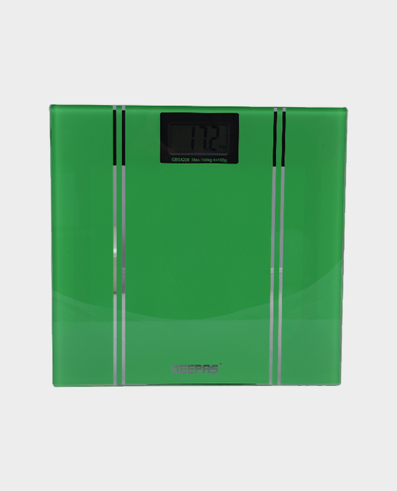 Geepas GBS4208 Personal Scale Green in Qatar